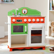 Teamson Kids My Little Chef Play Kitchen w  Stove Top