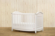Franklin & Ben Arlington Convertible Crib with Toddler Rail - White