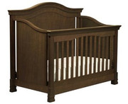 MDB Classic Louis 4-in-1 Convertible Crib  - Espresso