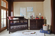 Million Dollar Baby Classic Foothill 4-in-1 Convertible Crib-Espresso