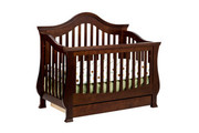 Million Dollar Baby Classic Ashbury 4-1 Convertible Crib -Espresso