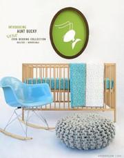 Aunt Bucky Little Urbanite Quilted Reversible Crib Sheet