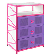 Powell Girls Buggy 3 Drawer Chest