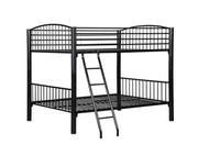 Powell Black Econo Bunk Bed - Full