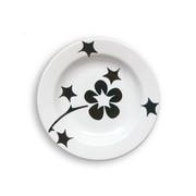 notNeutral Black Flora Rim Bowl - Set of 4