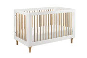 Babyletto Lolly 3-in-1 Convertible Crib (White and Natural)