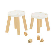 Babyletto Kaleidoscope Stool - Set of 2