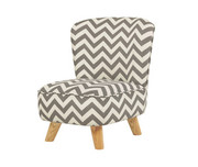 Babyletto Pop Mini Chair - Chevron Grey