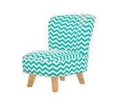 Babyletto Pop Mini Chair - Chevron Blue