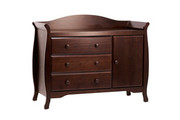 Million Dollar Baby Classic Ashbury Combo Dresser - Espresso