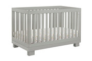 Babyletto Modo 3-in-1 Convertible Crib with Toddler Bed Conversion Kit - Grey