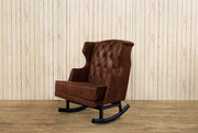 Franklin & Ben Leather Empire Rocker