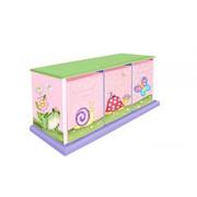 Teamson Design Kids Magic Garden 3 Drawer Cubby