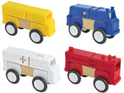 Guidecraft Block Mates - Community Vehicles