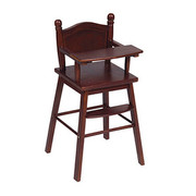 Guidecraft Doll High Chair - Espresso