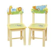 Guidecraft Savanna Smiles Extra Chairs - Set of 2