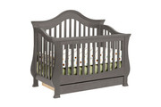 MDB Classic Ashbury 4-in-1 Convertible Crib - Manor Grey