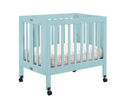 Babyletto Origami Mini Crib - Lagoon