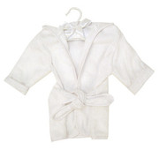 Trend Lab White Terry Infant Robe