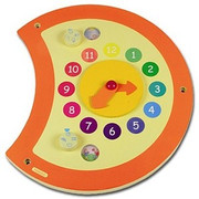 Hape Toys Caterpillar Clock Wall Panel DS
