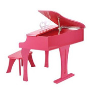 Hape Toys Happy Grand Piano - Pink
