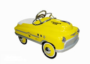 Airflow Collectibles Yellow Taxi Comet Car-AF116