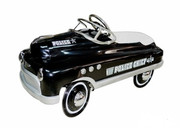 Airflow Collectibles Black Police Comet Car-AF117