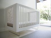 Spot on Square Alto Crib - Bamboo Rings