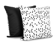Olli and Lime Pillow - Triangle