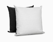 Olli and Lime Pillow - Grid