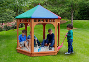 Gorilla Playsets PLAY-ZEE BO Covered Sandbox