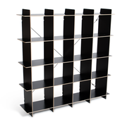 Sprout Kids 16 Cubby Organizer - Black