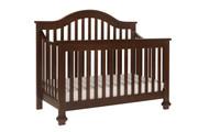 DAVINCI Clover 4 in 1 Convertible Crib w/ Toddler Conversion in Espresso Finish