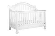 DAVINCI Clover 4 in 1 Convertible Crib w/ Conversion in White