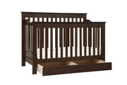 DAVINCI Piedmont 4 in 1 Convertible Crib w/ Toddler Conversion