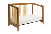 DAVINCI Highland 4 in 1 Convertible Crib w/ Toddler Conversion in Chestnut & Natural