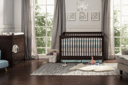 DAVINCI Highland 4 in 1 Convertible Crib w/ Toddler Conversion in Espresso Finish