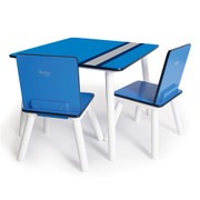 COOL TABLE & CHAIRS - RACING STRIPES