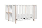 Babyletto Bingo Crib White Washed & Natural