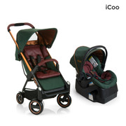 iCoo Acrobat & iGuard Infant Seat - Copper Green