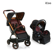 iCoo Acrobat & iGuard Infant Seat - Copper Black