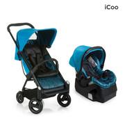 iCoo Acrobat & iGuard Infant Seat - Fishbone Blue