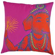 Koko Company Bazaar 22 x 22 Pillow - Fuchsia
