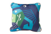 Oceanography Cubist Toddler Pillow Seahorse