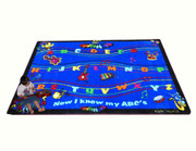 ABC Musical Song Rug