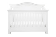 MDB Classic Louis 4 in 1 Crib in White