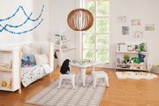 Babyletto Tally Storage & Bookshelf in White & Washed Natural