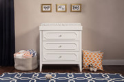 Davinci Poppy Regency Dresser White
