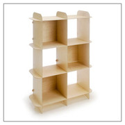 Offi and Co. Ply-Grid Shelf - Vertical
