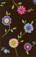 Dalyn Rug Company Childrens Rugs 4Ever Young FV8 - Chocolate